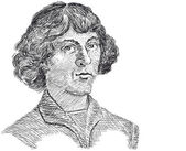 Vector - Nicolaus Copernicus — Stock Vector