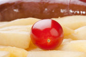 Ripe tomato — Stock Photo