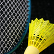 Badminton equipment — Stock Photo