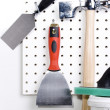 Stock Photo: Plastering tools
