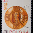 Poland - CIRCA 1973: A stamp - Patent KALISKA — Stock Photo