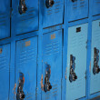Stock Photo: Lockers