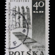 Stock Photo: Poland - CIRC1967: stamp - Nazism