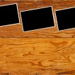 Stock Photo: Wood paneling