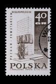 Poland - CIRCA 1968: A stamp - Wielkopolskie — Foto de Stock
