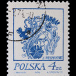 Poland - CIRCA 1968: A stamp - flower - Stockfoto