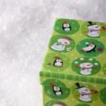 Green gift box — Stock Photo #4424769