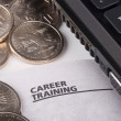 career training — Stock Photo