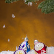 Stock Photo: Holiday decorations