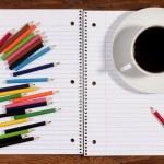 notebook pro záznamy — Stock fotografie