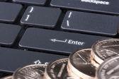 Computadora teclado — Foto de Stock