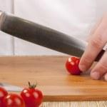 Cut vegetables — Stock Photo #4576331