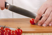 Cut vegetables — Stock Photo