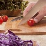 Cut vegetables — Stock Photo #4606238