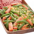 Frozen vegetables — Stock Photo #4613798