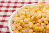 Canned corn — Foto Stock