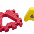 Letters puzzle — Stock Photo #4693819