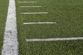 Football at the stadium — Stock Photo