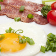 Stock Photo: Fried eggs