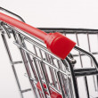 Empty shopping cart — Stock Photo