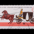 Poland - CIRCA 1965: A stamp - brougham — Stock Photo