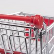 Empty shopping cart — Stock Photo #5070582