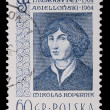Poland - CIRCA 1964: A stamp - Nicolaus Copernicus — Stock Photo #5110856