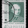 Poland - CIRCA 1964: A stamp - Hugo Kollataj — Stock Photo