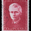 Poland - CIRCA 1964: A stamp - Maria Sklodowska - Stock Photo