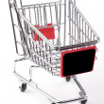 prázdný nákupní vozík — Stock fotografie #5142383