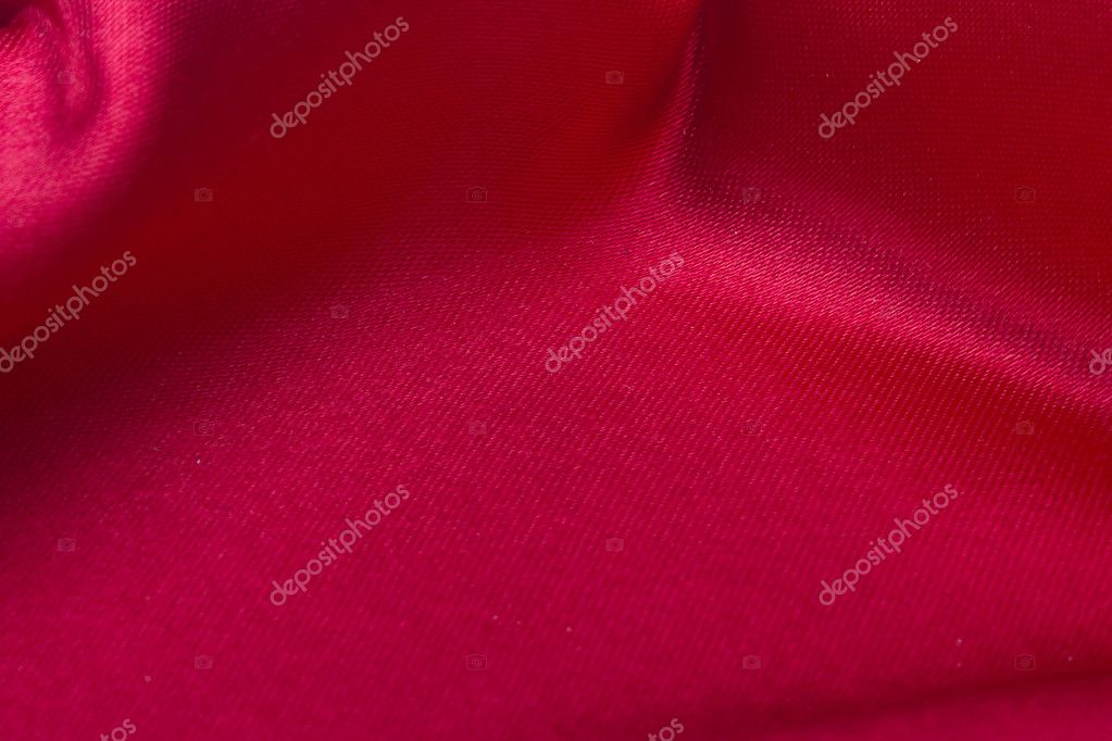 Red silk material used as a background. — Stock Photo #5142086