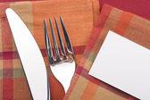 Coltello e forchetta — Foto Stock