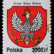 Poland - CIRC1992: stamp - heraldry — Stock Photo #5256024