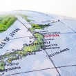 Stock Photo: Map of Japan