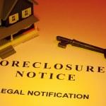 Foreclosure Notice — Stock Photo
