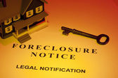 Foreclosure Notice — Stock Photo