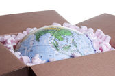 World in a Box — Stock Photo