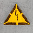 High voltage sign — Stock Photo #4615283