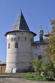 Torre di angolo del cremlino di rostov la grande russia — Foto Stock