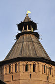 Tower of russian Spaso-Evfimevsky monastery in Suzdal — Stock Photo