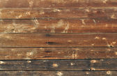 Brown wooden boards background — Stock Photo