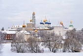 Trinity Lavra of Saint Sergius, Russia — Stock Photo
