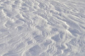 Windy snow surface background — Stock Photo
