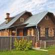Stock Photo: Country wooden house