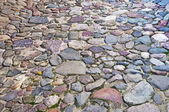 Cobblestone surface background — Stock Photo