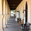 santa ynez mission — Stock Photo