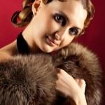 Portrait of elegant woman — Stock Photo
