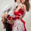 Dancing with passion pair — Stock Photo #5099021