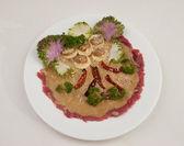 Reunir-se com pimenta vermelha fresca — Foto Stock