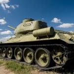 Tank T-34 — Stock Photo